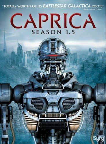 caprica dvd,season 1.5,caprica 1.5,dvd cover