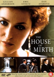 the house of mirth,gillian anderson,eric stoltz,dvd cover