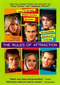 the rules of attraction,poster,dvd,eric stoltz