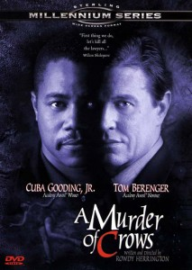 a murder of crows,dvd cover