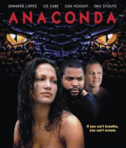 anaconda,movie poster