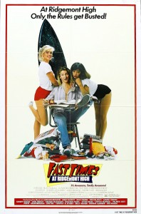 fast times at ridgemont high,movie poster