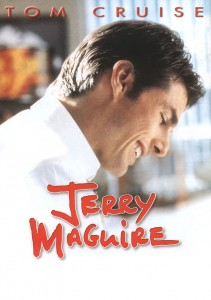 jerry maguire,jerry maguire poster,tom cruise