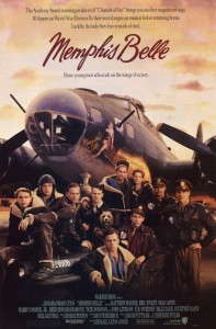 eric stoltz,memphis belle,movie poster