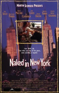 eric stoltz,naked in new york,movie poster