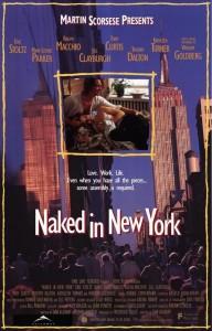 eric stoltz,naked in new york,movie poster