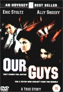 our guys,outrage at glen ridge,movie poster,dvd,eric stoltz