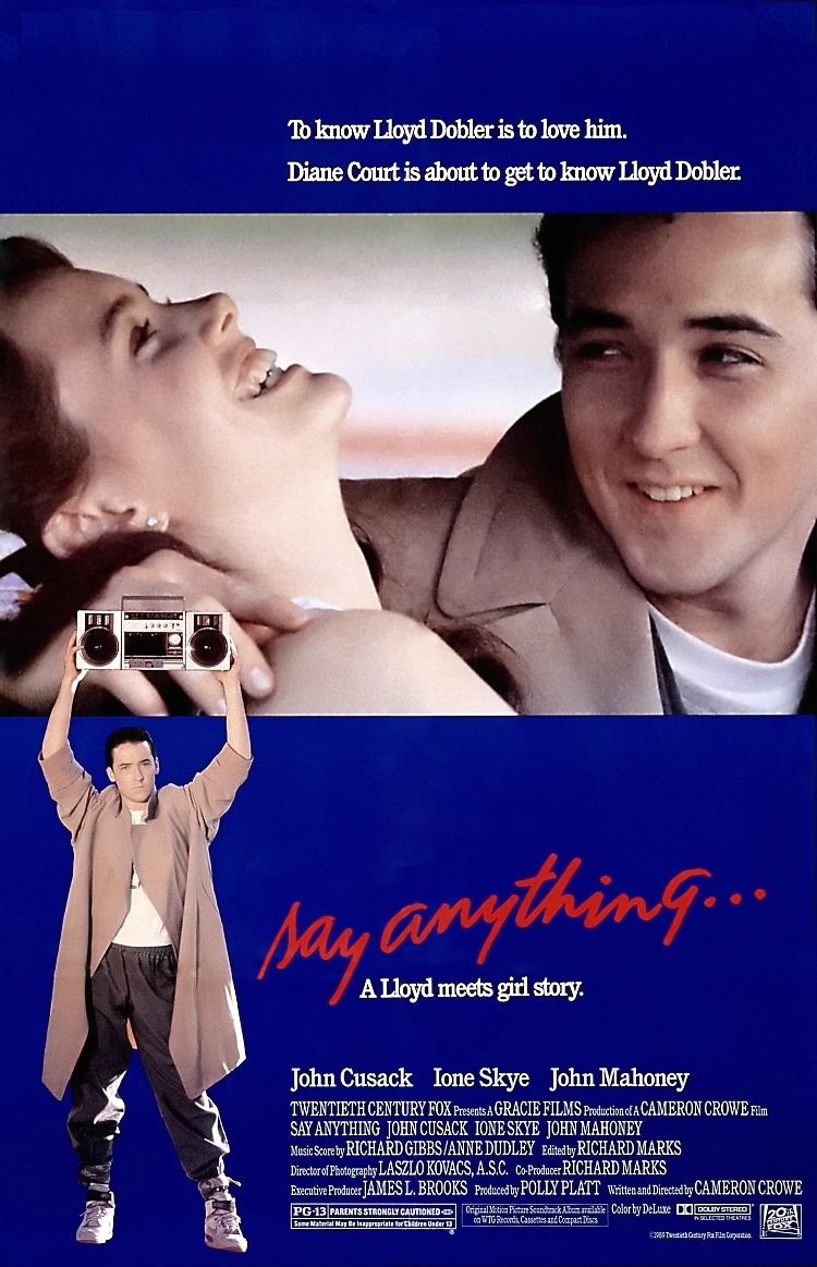 Bilderesultat for say anything dvd cover
