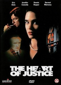 eric stoltz,the heart of justice,movie poster
