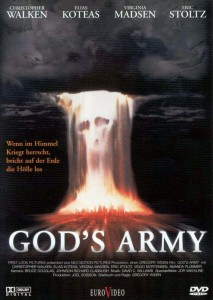 the prophecy,god's army,movie poster