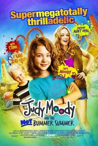 judy moody and the not bummer summer,movie poster