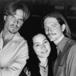 Craig Sheffer, Meg Tilly and Eric Stoltz in Sleep with Me