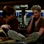 Eric Stoltz and Chris Penn in The Wild Life 2