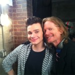 Eric Stoltz and Chris Colfer - Glee 4.17